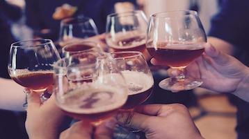 dicas para ganhar massa muscular: evitar bebidas alcoólicas
